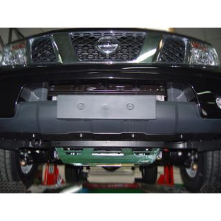Underride protection Steel Nissan Pathfinder