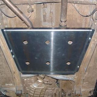Underride protection Suzuki Jimny -´05 for the Transfer Gear